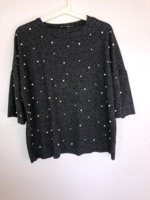 Pullover mit Perlendetails