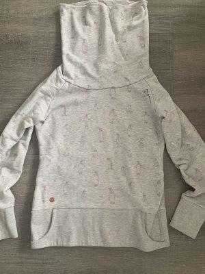 Mazine Jersey de cuello redondo gris claro