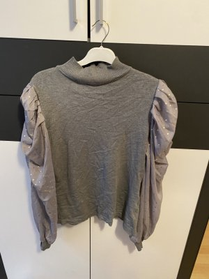 Pullover mit Puff Ärmel