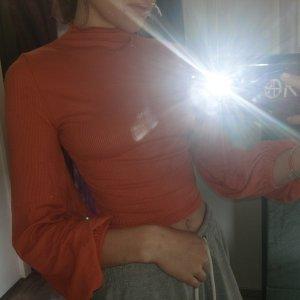 SheIn Pullover in cashmere arancione scuro