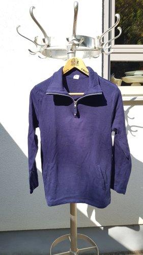 Maglione alla marinara blu-blu scuro Cotone