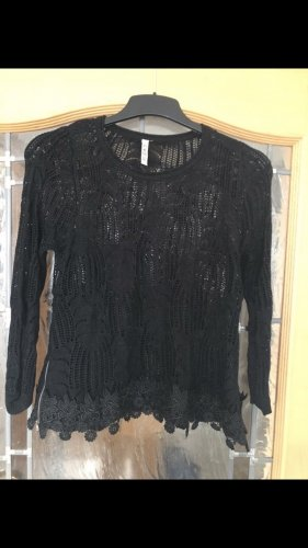 CMP Crochet Sweater black