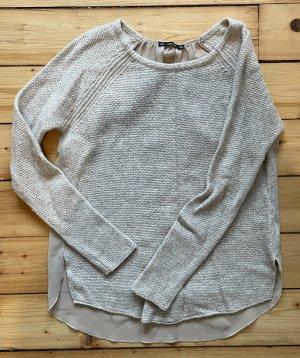 Pullover mit Rückeinsatz