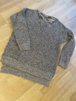 Shana Pullover a maglia grossa marrone chiaro