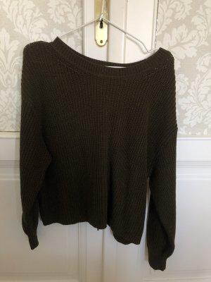 Pullover mit Rückenverzierung