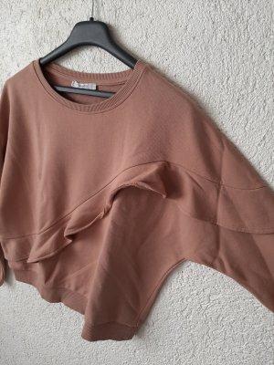 Pullover mit Rüsche