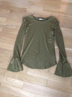 Pullover mit Rüschendetails