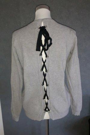 Pullover mit Schnürung am Rücken Gr. M