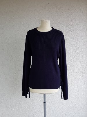 Pullover mit Schnürung in Gr. L