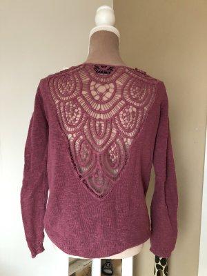 Pullover mit schönem Rückendetail Gr. 36