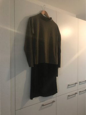 Vero Moda Long Cardigan black-ocher