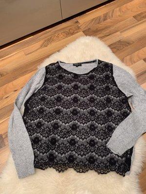 Pullover mit Spitze von Topshop