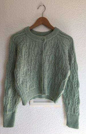 Zara Cardigan en crochet multicolore