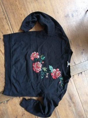 H&M Sweater Twin Set black
