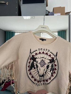 Pullover mit stier aufdruck
