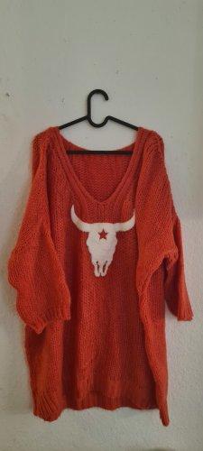 Oversized Sweater orange