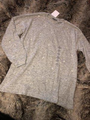 Pullover mit Strasssteinchen Gr 42