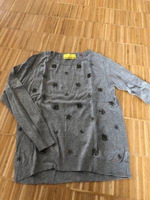Lieblingsstück Knitted Sweater silver-colored