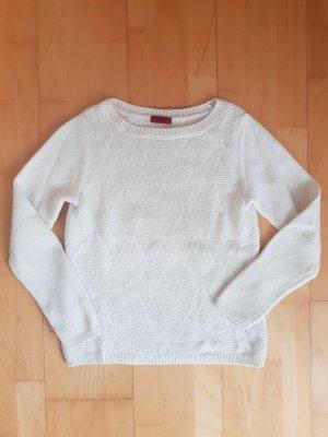 Pullover mit Strickmuster von Hugo