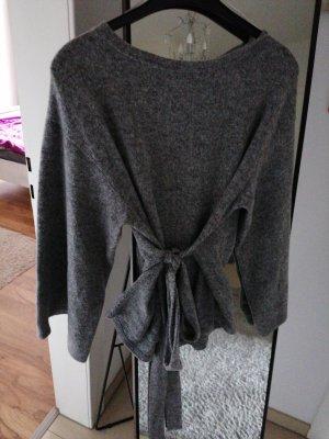 Amisu Felpa kimono grigio chiaro