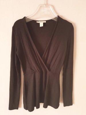 Anna Field Sweter z dekoltem w kształcie litery V czarny
