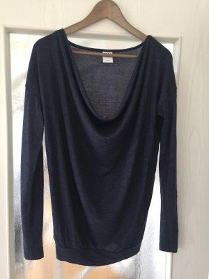 Pullover mit tollem Wasserfallausschnitt
