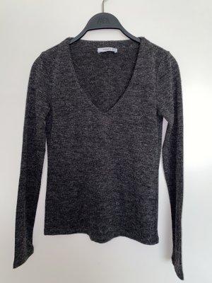 Pullover mit V Ausschnitt Pulli von Mango Neu XS 34