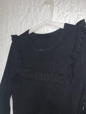 Pullover mit Volant Hallhuber