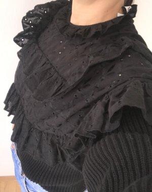 Pullover mit Volant von Zara