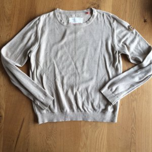 Adenauer & Co Pull tricoté beige clair