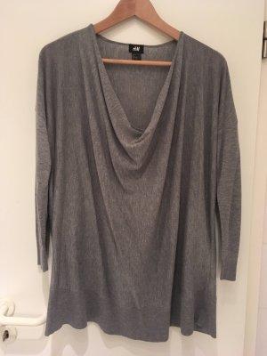 Pullover mit Wasserfall-Ausschnitt von H&M in Größe 38 (XS/S)