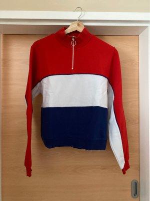 Pullover mit Zipp