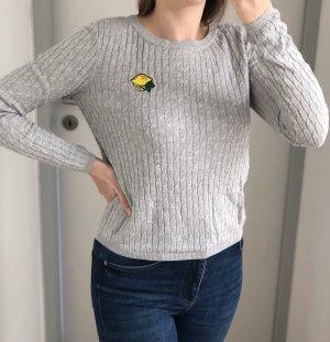 Pullover mit Zitronen Aufnäher