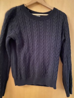 H&M Cable Sweater black