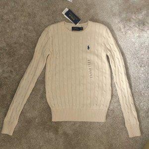 Polo Ralph Lauren Suéter blanco puro