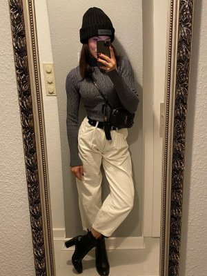 Pullover mit Zopfmuster ZARA S