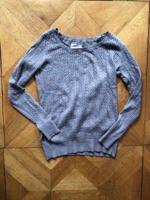 Zalando Essentials Sweter z okrągłym dekoltem szaro-brązowy