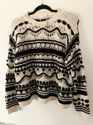 Pullover neu schwarz weiss