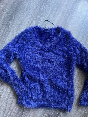 Comma Knitted Sweater blue