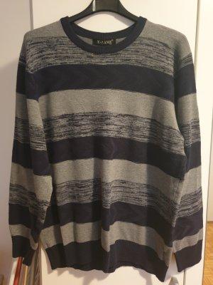 Robe pull gris-bleu foncé