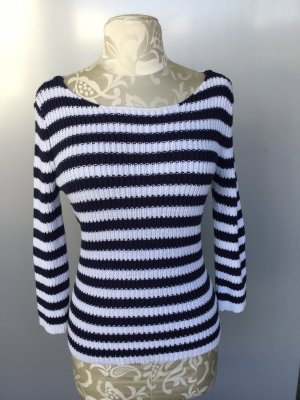 North sails Knitted Sweater white-dark blue