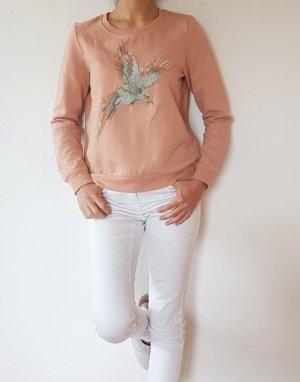 Pullover/ Oberteil/ Pulli/ Shirt/ bluse/ koral/ rosa