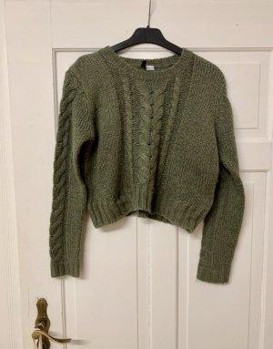 Pullover olivgrün