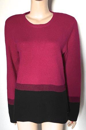 Pullover Olsen Größe 42 fuchsia-schwarz neu