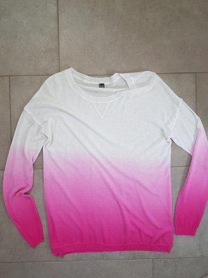 Pullover Ombré mit Farbverlauf