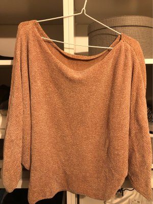 Zara Pullover in pile color oro rosa