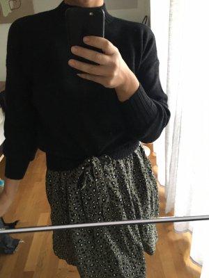 Only Grof gebreide trui zwart