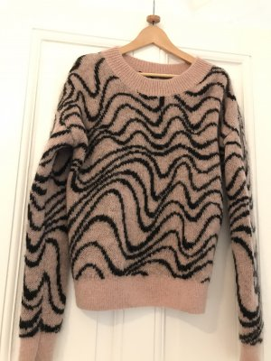 & other stories Wool Sweater pink-black