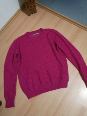 Pullover Pink heller als auf dem Foto u.a. 20% Mo hair und 14%  Wolle !!!