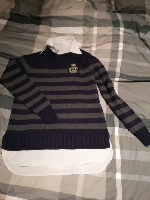 Polo Ralph Lauren Wool Sweater dark blue cotton